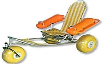כיסא גלגלים צף