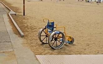 חוף הנכים הרצליה - נגיש לכולם