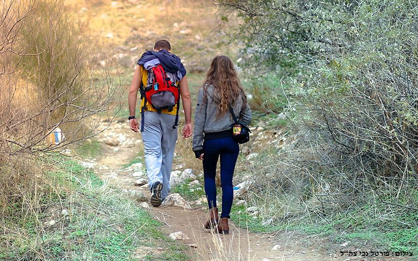 חוזרים לשגרה יוצאים לטייל בטבע