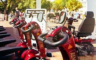 קלנועית מתקפלת - מתאים לטיולי נכים