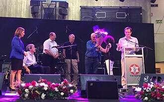 """ערב הוקרה לוותיקי ארגון נכי צה""""ל - מחוז תל אביב והמרכז"""